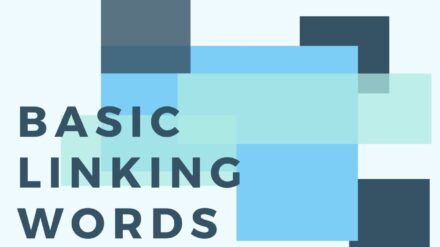 Functional language: Basic Linking Words