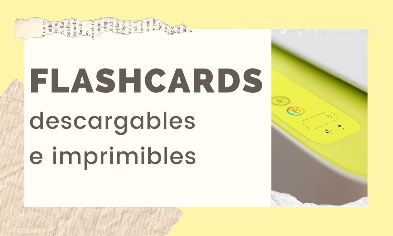 Flashcards descargables e imprimibles